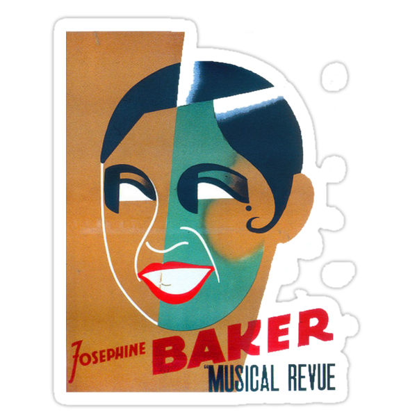 Josephine Baker - Poster for Stockholm by taiche
