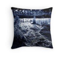 Winter Embankment Throw Pillow