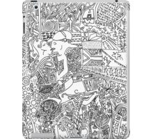 lovers kissing picture iPad Case/Skin