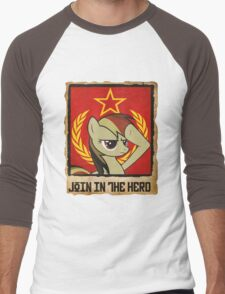 Join in the Herd Men's Baseball ¾ T-Shirt