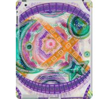 Multi-Dimensional Ease: Inner Power Painting iPad Case/Skin