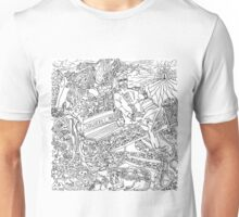 squirrel man washington square park Unisex T-Shirt