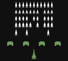 Mass Effect - Space Invaders by FlyNebula