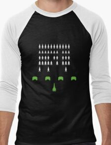Mass Effect - Space Invaders Men's Baseball ¾ T-Shirt