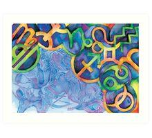 Zodiacal Art Print