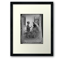 Story Book Pages Framed Print