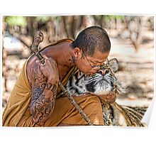 Tiger Love in Thailand Poster