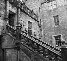Steps to the Castle by Ryan Davison Crisp
