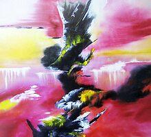 magical waterfalls by david hatton