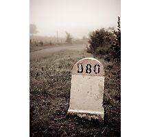 D80 landmark Photographic Print
