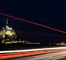 Mont-Saint-Michel, France by Sébastien FERRAND