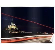 Mont-Saint-Michel, France Poster