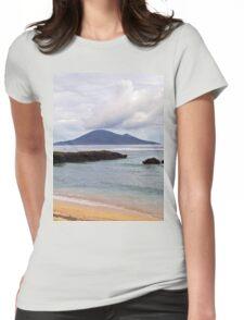 an unbelievable Vanuatu landscape Womens Fitted T-Shirt