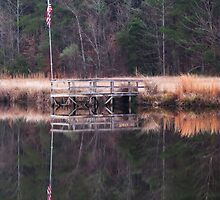 Reflection of Old Glory by Kathy Yates