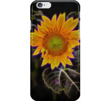 """Electric Sunflower"" iPhone Case/Skin"