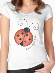 Daddy's Girl  Women's Fitted Scoop T-Shirt