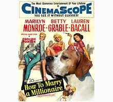 Pointer Art - How To Marry a Millionaire Movie Poster Unisex T-Shirt