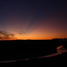 Rio Grande Sunset by Lacy O.