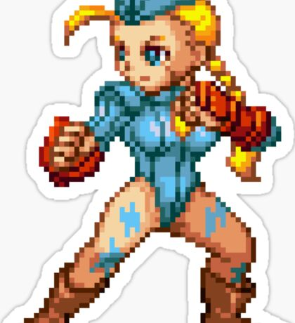Cammy - Street Fighter Sprite Sticker