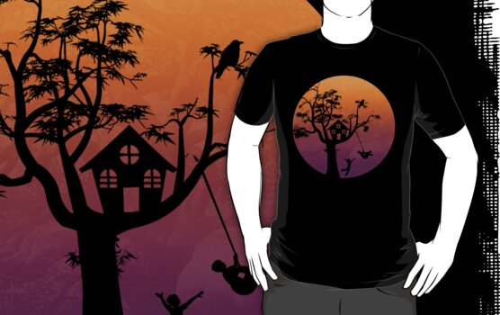 Sunset Silhouette by zomboy