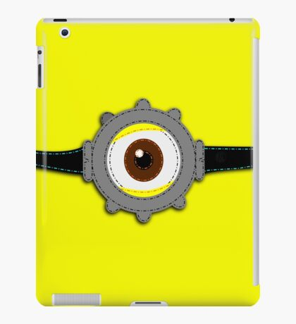 Minion Goggles Patch iPad Case/Skin