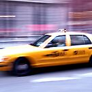 NYC Cab by JLaverty