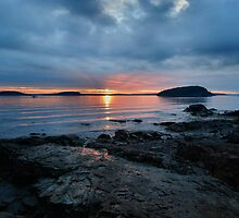Stormy Sunrise, Bar Harbor by Stephen Vecchiotti