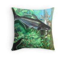 Irridescent Shark Throw Pillow