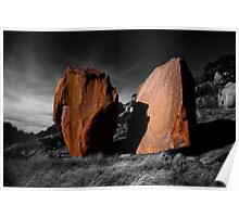 Enchanted Rock Megaliths, Texas Poster