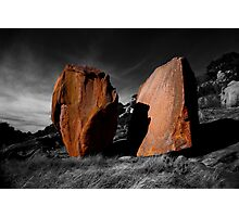 Enchanted Rock Megaliths, Texas Photographic Print