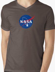 NASA TAR DIS Mens V-Neck T-Shirt