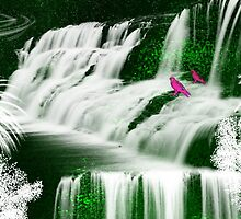 Inspiration Waterfall-  Art + Products Design  by haya1812