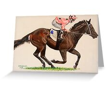 Black Caviar Greeting Card
