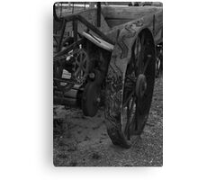 Iron Wheels Canvas Print