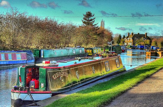Narrowboat Ubique - Norton Junction by SimplyScene