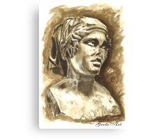Female Bust - Sculpture I-III DC, Rome Canvas Print