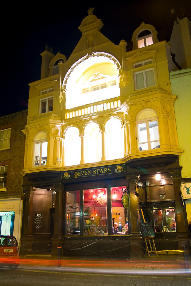 Brighton pubs at night 30 - The Seven Stars by Eyeswide