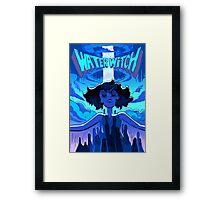 Lapis Lazuli Water Witch Framed Print