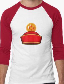 Son Gohan's Hat Men's Baseball ¾ T-Shirt