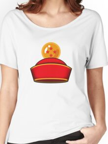 Son Gohan's Hat Women's Relaxed Fit T-Shirt