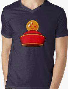 Son Gohan's Hat Mens V-Neck T-Shirt