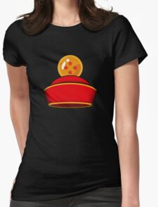 Son Gohan's Hat Womens Fitted T-Shirt