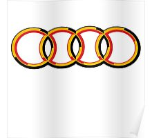 Audi flag Poster