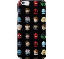 Marvel Hero Minifigures iPhone Case/Skin