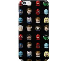 Marvel Hero Minifigures iPhone Case/Skin
