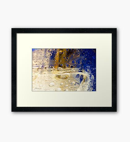 Drops of Jupiter Framed Print