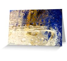 Drops of Jupiter Greeting Card