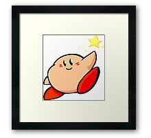 Kirby of the Stars Framed Print