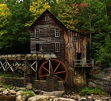 West Virginia Grist Mill by Terry Best