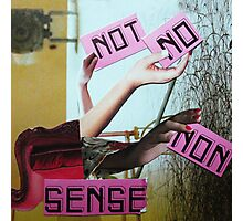 No sense. Photographic Print